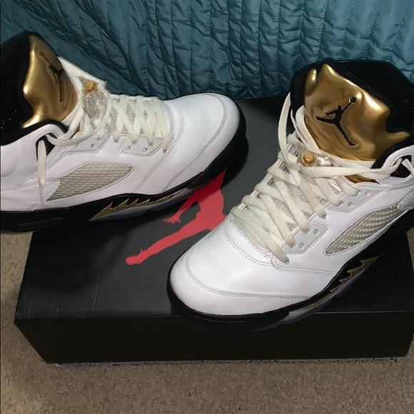 "a801186c013b Jordan Other - Air Jordan 5 Retro ""Olympic Gold"""